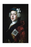 Prince Charles Edward Stuart (Bonnie Prince Charlie) Posters by William Mosman