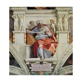 Sistine Chapel Ceiling, Prophet Joel Giclee Print by  Michelangelo Buonarroti