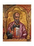 Apostle from Church of Saint Mary Vllaherna Art by Nicholas (Nikolla) Onufri