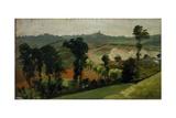 Hilly Landscape Affiches par Demetrio Cosola