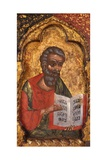 Apostle from Church of Saint Mary Vllaherna Print by Nicholas (Nikolla) Onufri