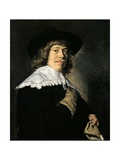 Man with a Glove Print by Frans Hals