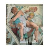 Sistine Chapel Ceiling, Prophet Jonah Giclee Print by  Michelangelo Buonarroti