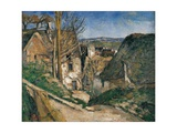 House of a Hanged Giclee Print by Paul Cézanne