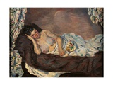 Reclining Nude Posters by Jean-Baptiste-Armand Guillaumin