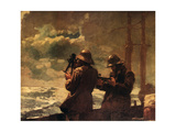Eight Bells Stampa giclée di Winslow Homer