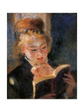 Woman Reading Art by Pierre-Auguste Renoir