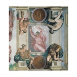 Sistine Chapel Ceiling, God Separating Darkness and Light Prints by  Michelangelo Buonarroti