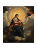 Virgin in Glory (Mary Intercedes in Prayer to God the Father), C. 1600-1620 Prints