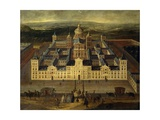 View of the Escorial Palace Prints
