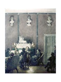 Musical Evening, House of Bettina Brentano Giclee Print by Carl Johann Arnold