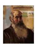 Self Portrait Affiches par Camille Pissarro