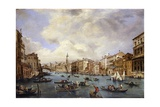 View of Grand Canal with Gondolas Prints