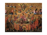 Dormition of the Virgin with Apostles Prints by Joan Athanasi