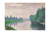 River Bank Posters by Paul Signac