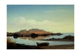 Brace's Rock, Brace's Cove Giclee Print by Fitz Hugh Lane