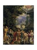 Kristi dåb Plakater af Feb Soens