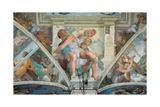 Sistine Chapel Ceiling, Prophet Jonah Poster by  Michelangelo Buonarroti