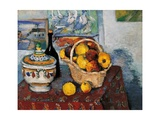 Still Life with Soup Tureen Posters by Paul Cézanne