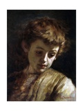 Young Boy with Sad Expression) Posters par Demetrio Cosola