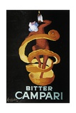 Advertising Poster for Bitter Campari Prints by Leonetto Cappiello