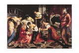 Birth of Saint John the Baptiste Posters by Tintoretto (Jacopo) Robusti