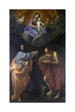 Madonna and Child with Saints Thomas and Jerome Posters by Guido Reni