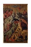 Nativity from Church of Saint Mary Vllaherna Giclee Print by Nikolla (Nicholas) Onufri