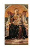 Madonna and Child Enthroned Posters
