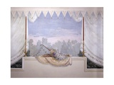 Decoration of a Room, Trompe L'Oeil Fresco Prints by Francesco Bagnara