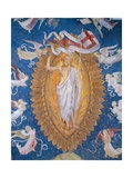 Christ Resurrected, in Golden Mandola, with Angels Giclee Print by Zanetto Bugatto