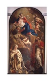 Virgin and Children Venerated by Sts. Gregory, Peter, and Allegory of Venice Prints by Giulia Lama