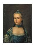 Isabel from Parma, 1780-1799 Kunst af Giuseppe Baldrighi