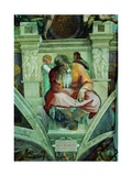 Sistine Chapel Ceiling, Prophet Jeremiah Posters by  Michelangelo Buonarroti