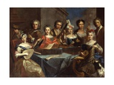 Family of Musicians Giclee Print