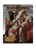 Deposition (Christ Removed from Cross) Giclée-Druck von Maarten de Vos