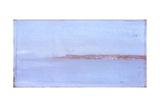 Seascape (Coastline Stretching to  Horizon) Affiches par Giuseppe De Nittis