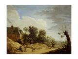 Landscape with Wanderers, C. 1650-1699 Prints