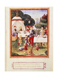 Banquet Scene Print