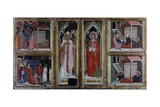 Polyptych of Saints Gregory and Fina Prints by Lorenzo Gerini di Niccolo