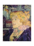 Englishwoman of the 'Star' at Le Havre (Miss Dolly Singer) Lámina giclée prémium por Henri de Toulouse-Lautrec