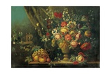 Still Life with Flowers and Fruits Prints