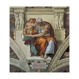 Sistine Chapel Ceiling, Cumaean Sibyl Prints by  Michelangelo Buonarroti