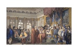Bishop Ramponi Grants the Seven Courts of the Procuratori of St. Mark Prints by Giovanni Demin