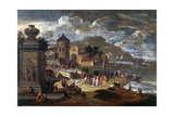 Seascape and Merchants from the East Posters by Mathijs Schoevaerdts