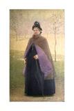 Savinia Alfieri Nasoni (Widow of Philanthropist, Vincent Nasoni) Prints by Emilio Longoni