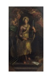 Saint Cecilia (Among Musical Instruments and a Chorus of Angels) Prints by Sebastiano Filippi