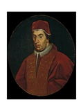 Pope Clement XI Albani, Italian School, C.1700-25 Print