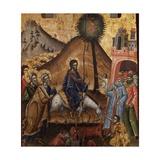 Christ Entering Jerusalem Posters por Joani Cetiri