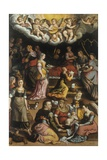 Nativity of Virgin Mary Art by Giovan Battista Bertucci the Younger